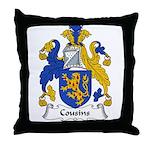 Cousins Family Crest  Throw Pillow