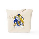 Cousins Family Crest  Tote Bag