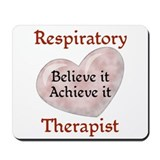 Respiratory Therapist Mousepad