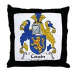 Cousin Family Crest  Throw Pillow
