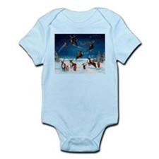 Flying Lessons Corgis & Reind Infant Bodysuit