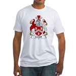 Cordell Family Crest Fitted T-Shirt