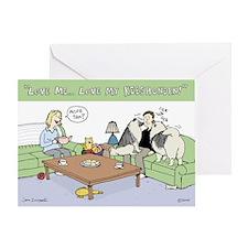 Love My Keeshonden Greeting Card