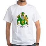 Collins Family Crest White T-Shirt