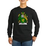 Collins Family Crest Long Sleeve Dark T-Shirt