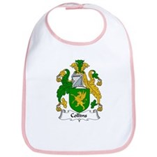 Collins Family Crest  Bib