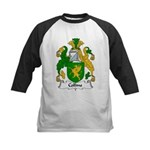 Collins Family Crest  Kids Baseball Jersey