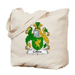 Collins Family Crest  Tote Bag