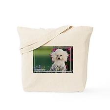 Miniature Poodle-4 Tote Bag