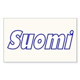 Suomi Gill Sans Rectangle Decal