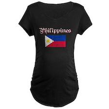 Filipino grunge flag T-Shirt