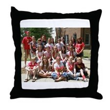 Mid Level: Red Council Throw Pillow