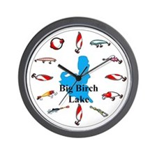 Big Birch Lake Wall Clock