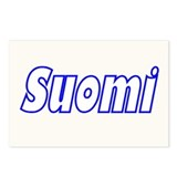 "Package of 8-4""x6"" Suomi Gill Sans Postcards"