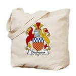 Chichester Family Crest Tote Bag