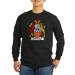 Chichester Family Crest Long Sleeve Dark T-Shirt