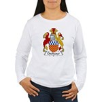 Chichester Family Crest Women's Long Sleeve T-Shir