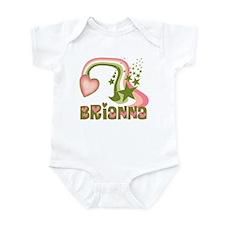 Rainbows & Stars Brianna Personalized Infant Bodys