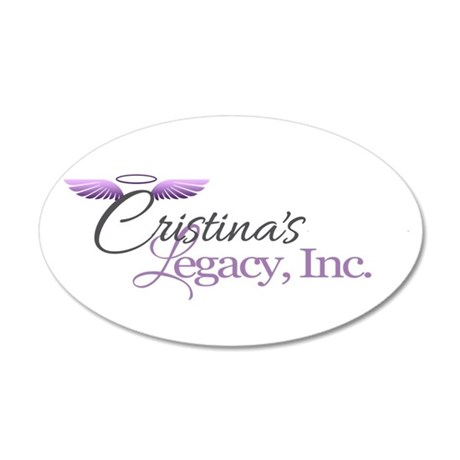 Cristina's Legacy Inc 20x12 Oval Wall Decal