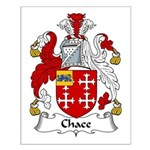 Chace Family Crest Small Poster