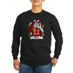 Chace Family Crest Long Sleeve Dark T-Shirt