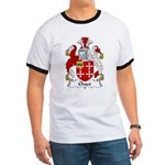 Chace Family Crest Ringer T