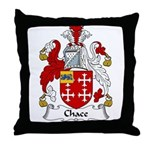 Chace Family Crest Throw Pillow