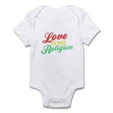 Love is my Religion Onesie