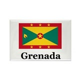 Grenada Rectangle Magnet (10 pack)