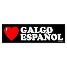 GALGO ESPAÑOL Bumper Car Sticker