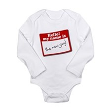 human alarm Long Sleeve Infant Bodysuit