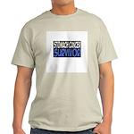 'Stomach Cancer Survivor' Light T-Shirt