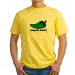 Jalapeno Addict Yellow T-Shirt