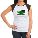 Jalapeno Addict Women's Cap Sleeve T-Shirt