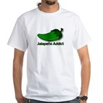 Jalapeno Addict White T-Shirt