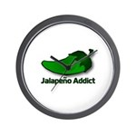 Jalapeno Addict Wall Clock