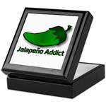 Jalapeno Addict Keepsake Box