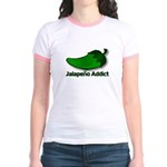 Jalapeno Addict Jr. Ringer T-Shirt