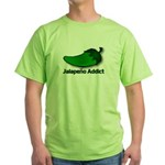 Jalapeno Addict Green T-Shirt