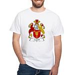 Capell Family Crest White T-Shirt