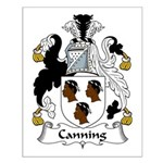Canning Family Crest Small Poster