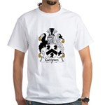 Campion Family Crest White T-Shirt