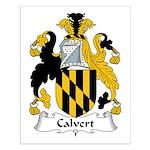 Calvert Family Crest Small Poster