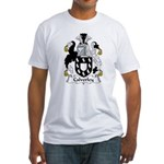Calverley Family Crest Fitted T-Shirt