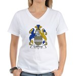 Calthorp Family Crest Women's V-Neck T-Shirt