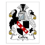 Calley Family Crest Small Poster