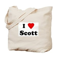 I Love Scott Tote Bag