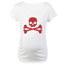 Skull Crossbones Red Shirt