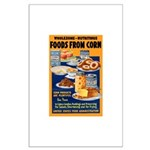 Foods from Corn Large Poster