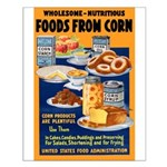 Foods from Corn Small Poster